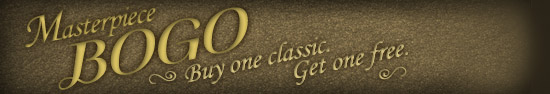 BOGO sale on Classics at Audible