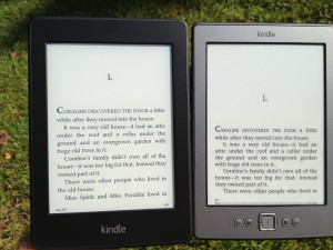 Compare Paperwhite Screen