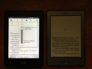 Kindle Paperwhite Lighted Screen
