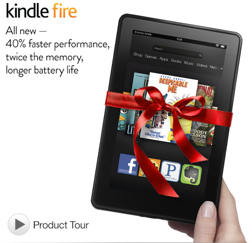 Kindle fire for $129