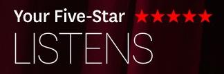 Audible.com five-star listens