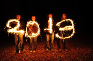 sparkler art 2013