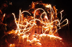 sparkler art 2013