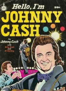 Spire comics Hello I am Johnny Cash