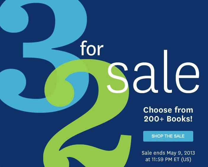 Audible.com 3 for 2 Credit Sale