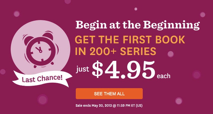 Audible.com First in Series Sale