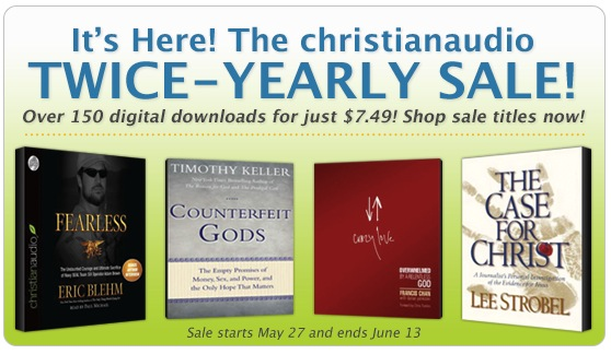 Christian Audio Sale