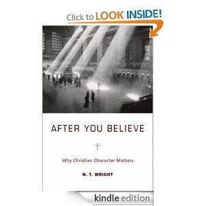 After YOu Believe: Why Christian Character Matters by NT Wright
