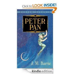 Peter Pan by JM Barrie