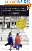 """From the Mixed-Up Files of Mrs. Basil E. Frankweiler"""" by E.L. Konigsburg"""