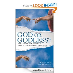 God or Godless? One Atheist, One Chrisitan. Twenty Controversial Questions