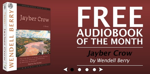 Free Audiobook of Jayber Crow by Wendell Berry