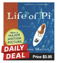 Audible.com daily Deal – Life of Pi
