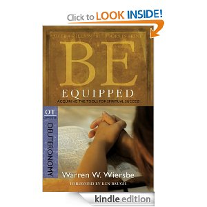 Deuteronomy by Warren Wiersbe (Be Equipped Commentary Series)