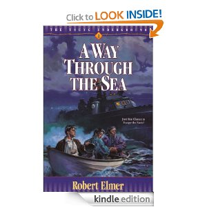 A Way Through the Sea by Robert Elmer (Young Underground #1)