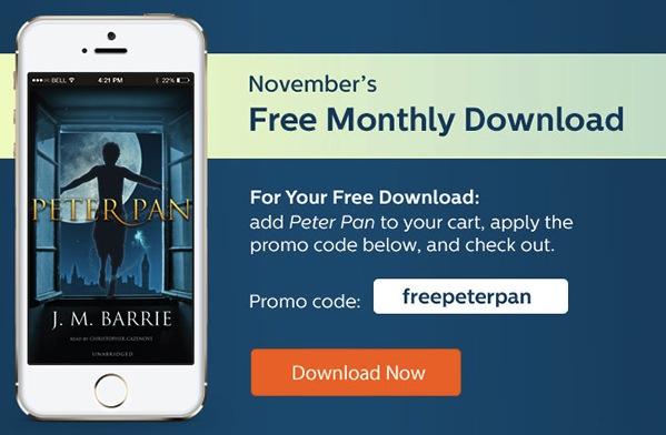 Free MP3 Audiobook of Peter Pan