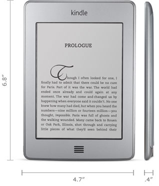Kindle Touch for $55