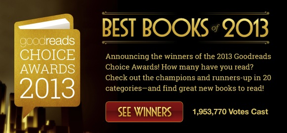 Goodreads.com Reader's Choice Awards 2013