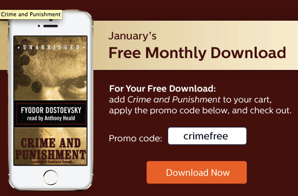 Free MP3 Audiobook of Crime and Punishment by Fyodor Dostoevsky