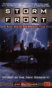 "Cover of ""Storm Front (The Dresden Files,..."