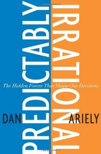 "Cover of ""Predictably Irrational: The Hid..."