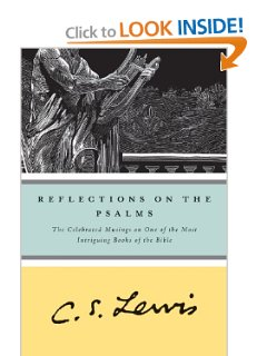 Reflections on the Psalms by CS Lewis