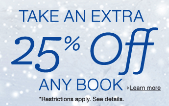 25% off Any Physical Book
