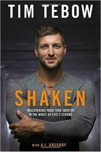 Shaken: Discovering Your True Identity in the Midst of Life's Storms by Tim Tebow book review