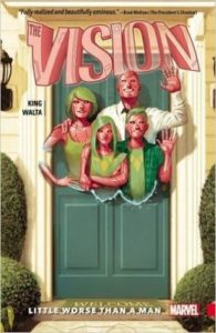 Vision (Vol 1): Little Worse Than a Man by Whom King and Gabriel Hernandez Walta