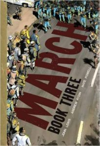 March (Books 2 and 3) by John Lewis, Andrew Aydin and Nate Powell