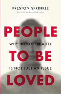 People to be Loved by Preston Sprinkle book review