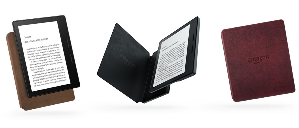 Kindle Oasis Amazon Stock photo