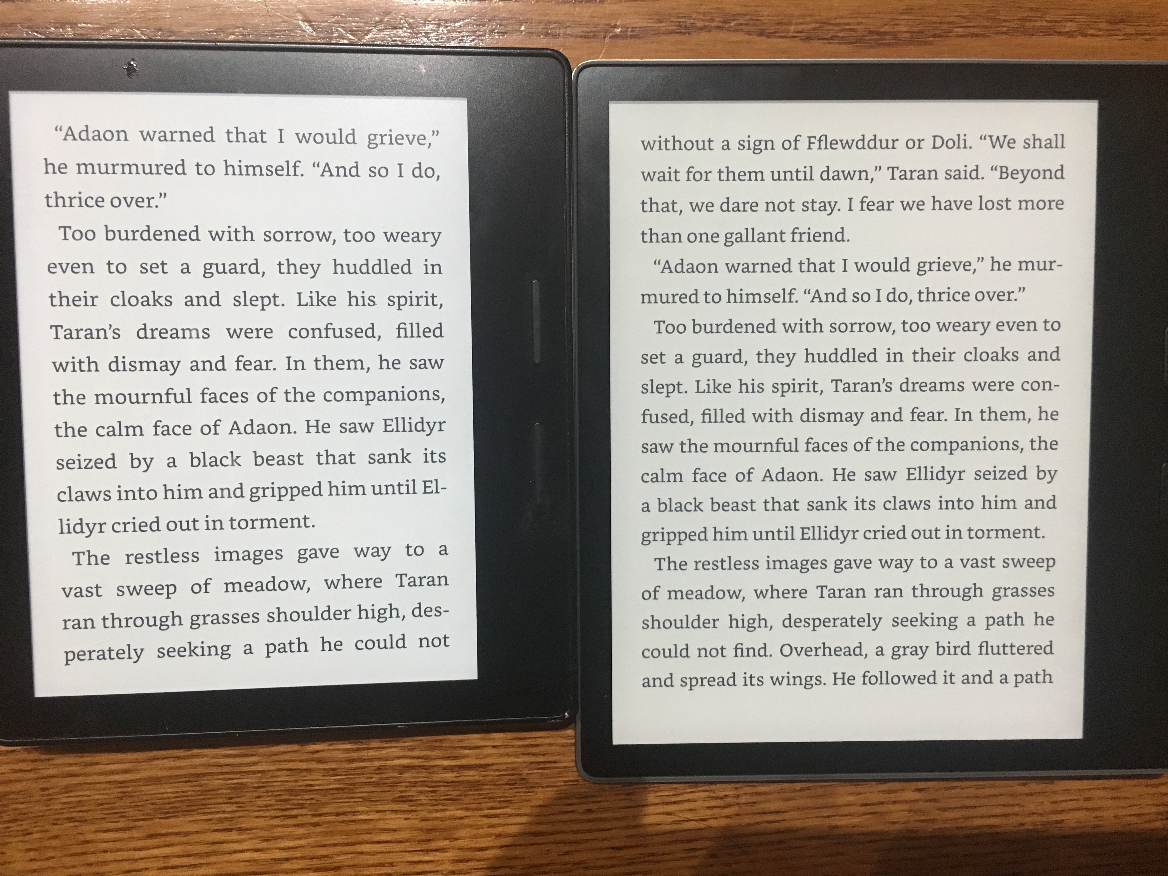 Thoughts Kindle Oasis (2nd Generation) - Bookwi se